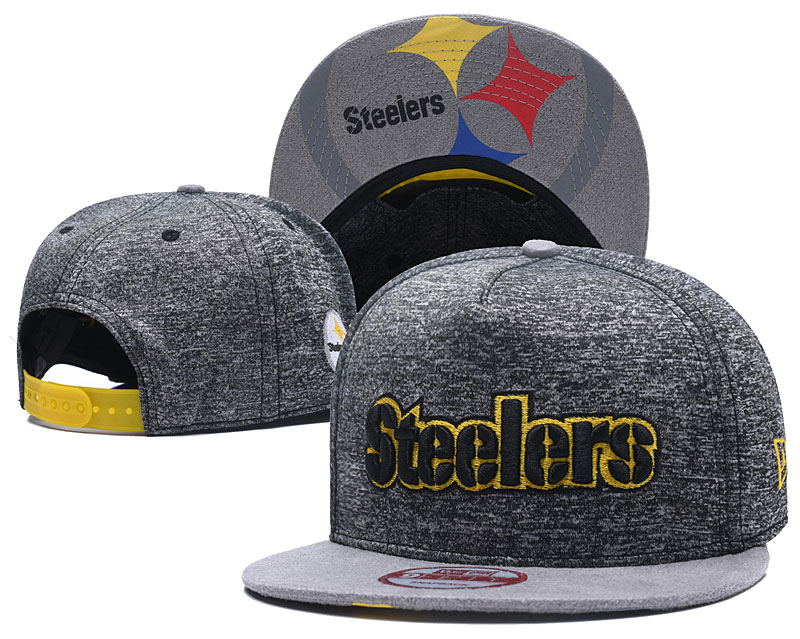 NFL Pittsburgh Steelers Stitched Snapback Hats 001