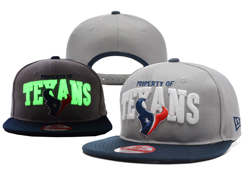 NFL Houston Texans Stitched Snapbcack Hats 010