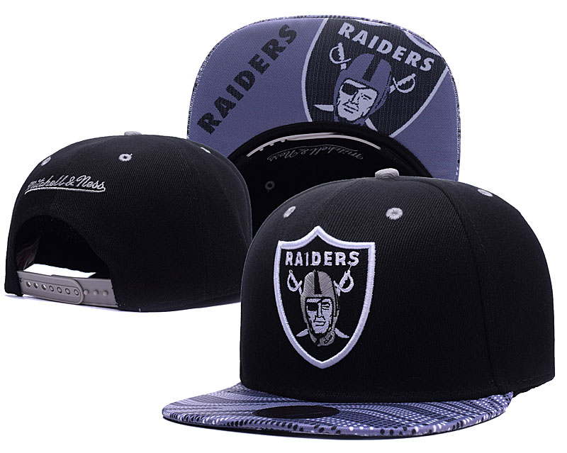 NFL Oakland Raiders Stitched Snapback Hats 011