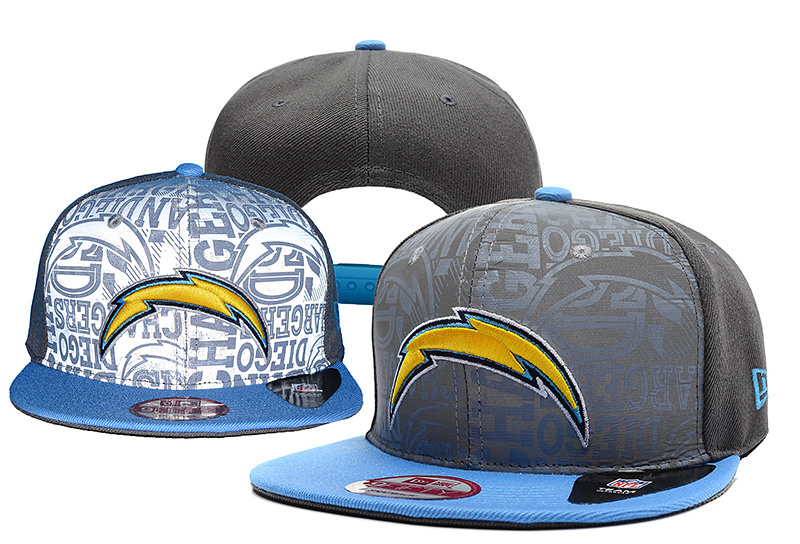 NFL Los Angeles Chargers Stitched Snapback Hats 011