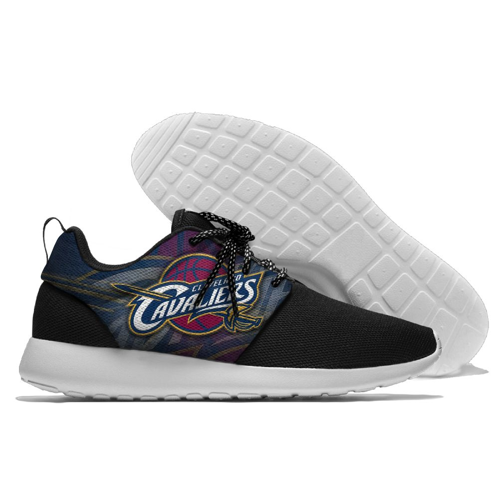 Women's NBA Cleveland Cavaliers Roshe Style Lightweight Running Shoes 011