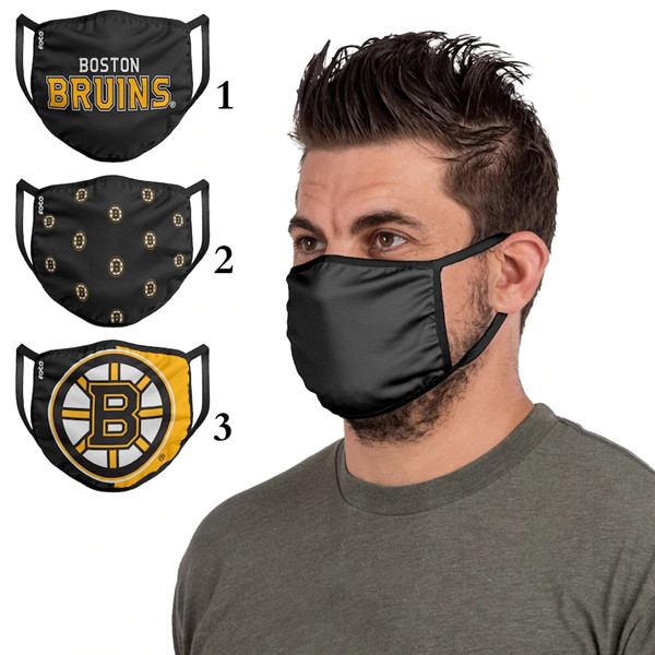Boston Bruins Sports Face Mask 001 Filter Pm2.5 (Pls Check Description For Details)