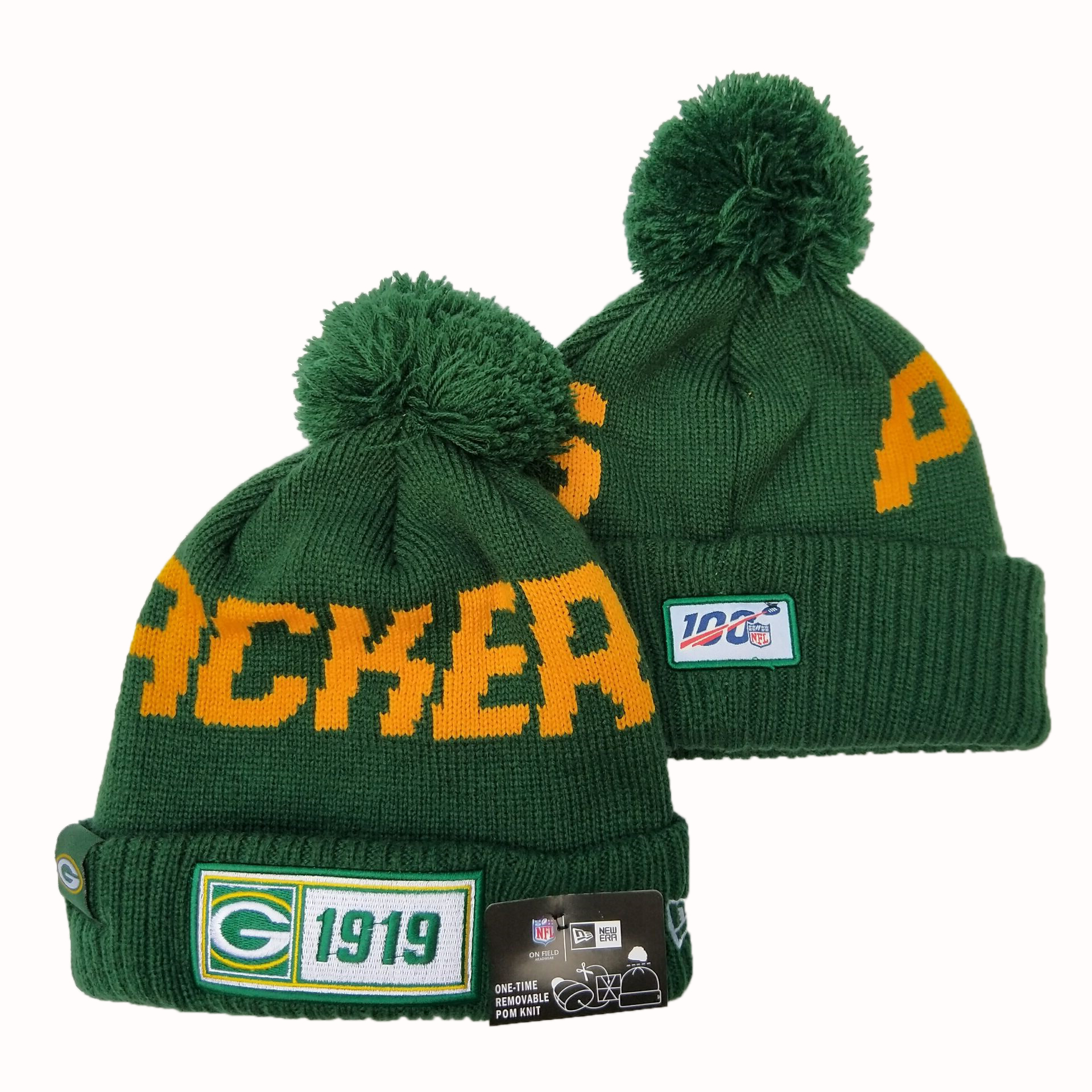 NFL Green Bay Packers New Era 2019 Knit Hats 055