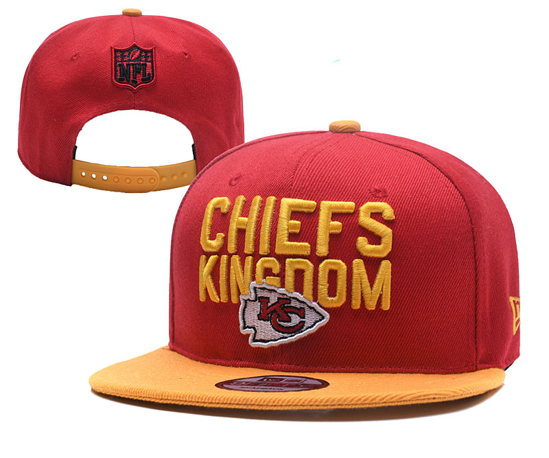NFL Kansas City Chiefs Stitched Snapback Hats 013