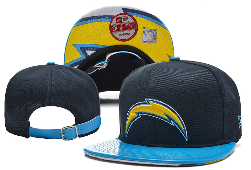 NFL Los Angeles Chargers Stitched Snapback Hats 014