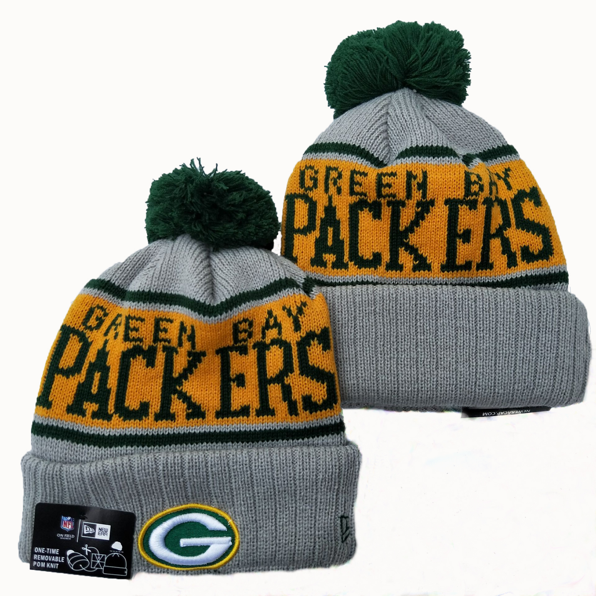 NFL Green Bay Packers New Era 2019 Knit Hats 057