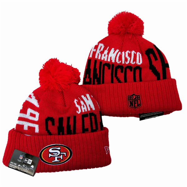 NFL San Francisco 49ers Knit Hats 083