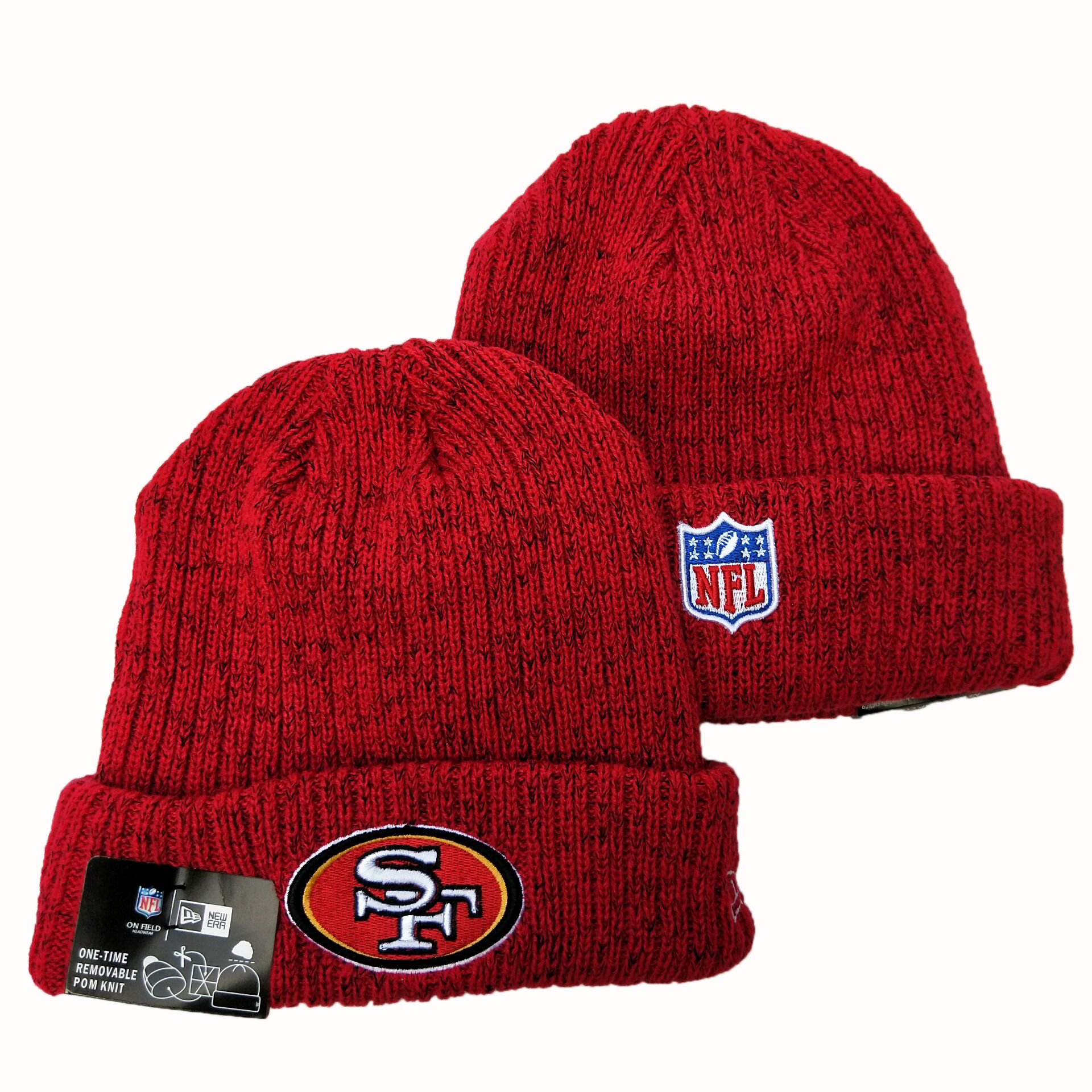 NFL San Francisco 49ers New Era 2019 Knit Hats 065