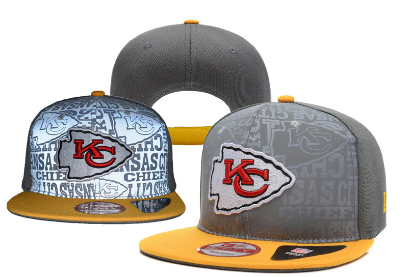 NFL Kansas City Chiefs Stitched Snapback Hats 012