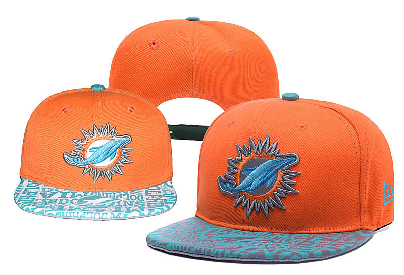 NFL Miami Dolphins Stitched Snapback Hats 006
