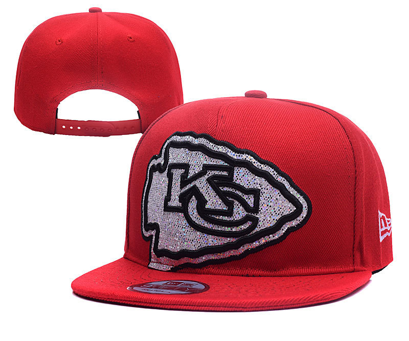NFL Kansas City Chiefs Stitched Snapback Hats 015