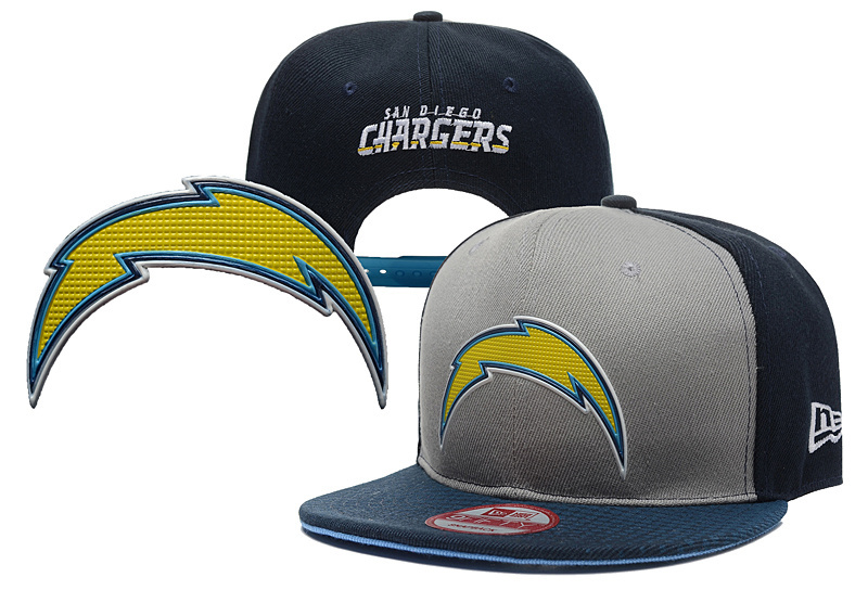 NFL Los Angeles Chargers Stitched Snapback Hats 016