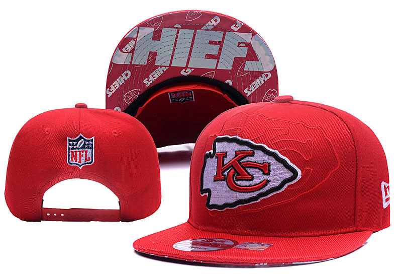 NFL Kansas City Chiefs Stitched Snapback Hats 001