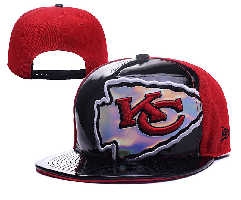 NFL Kansas City Chiefs Stitched Snapback Hats 017