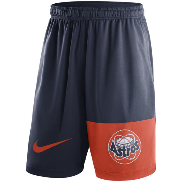 Men's Houston Astros Nike Navy Cooperstown Collection Dry Fly Shorts