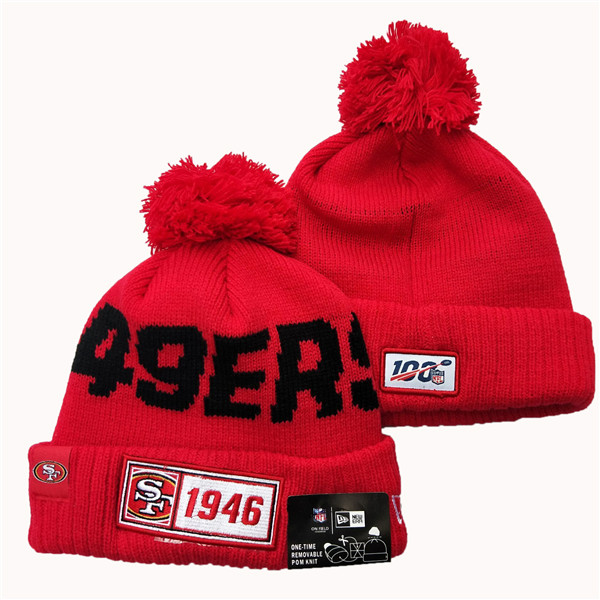 NFL San Francisco 49ers Knit Hats 086