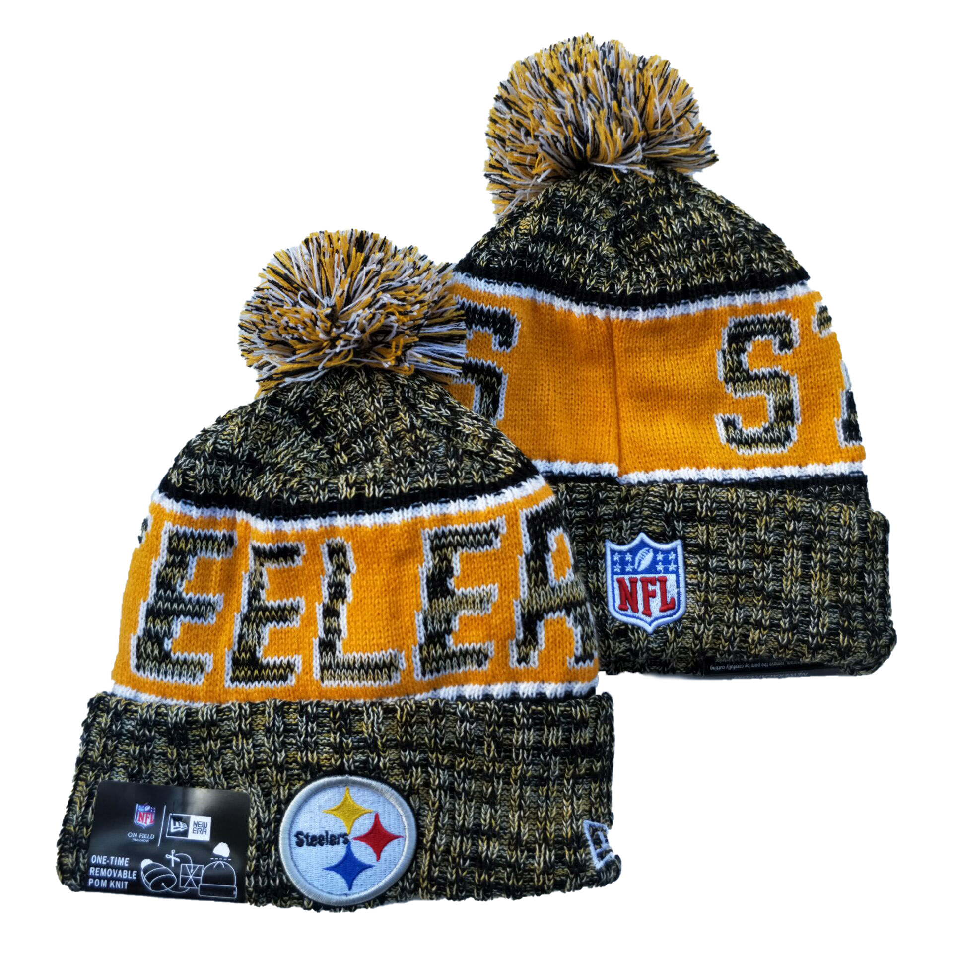 NFL Pittsburgh Steelers Knit Hats 060