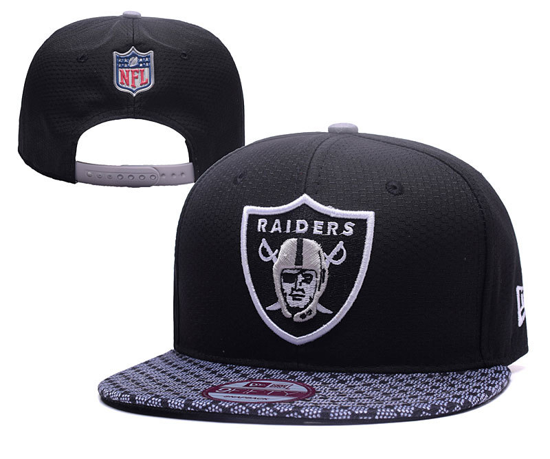NFL Oakland Raiders Stitched Snapback Hats 018