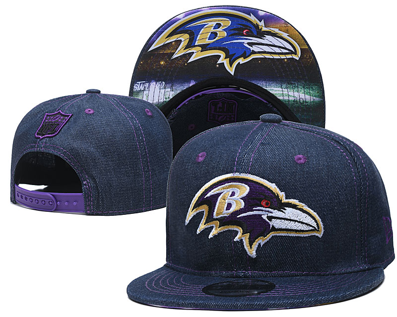Baltimore Ravens Stitched Snapback Hats 003