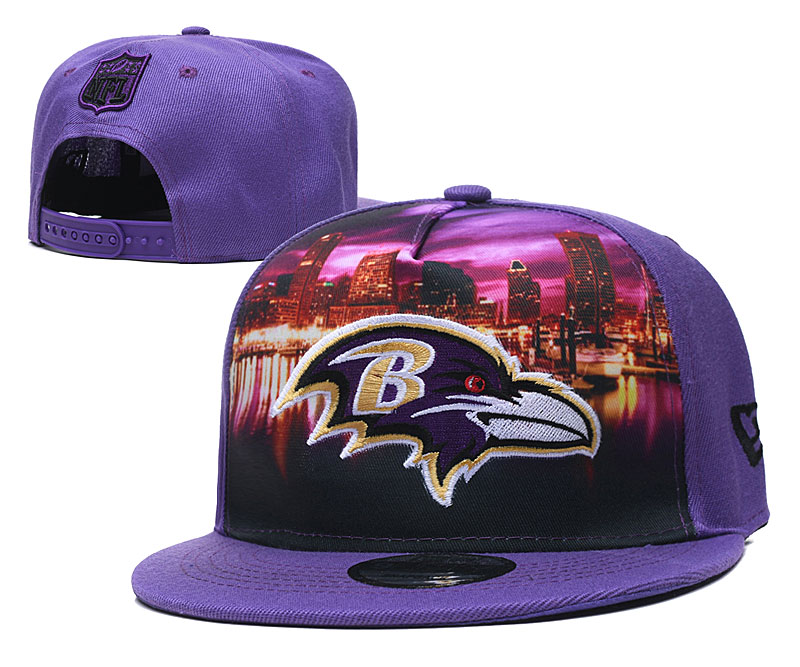 Baltimore Ravens Stitched Snapback Hats 004