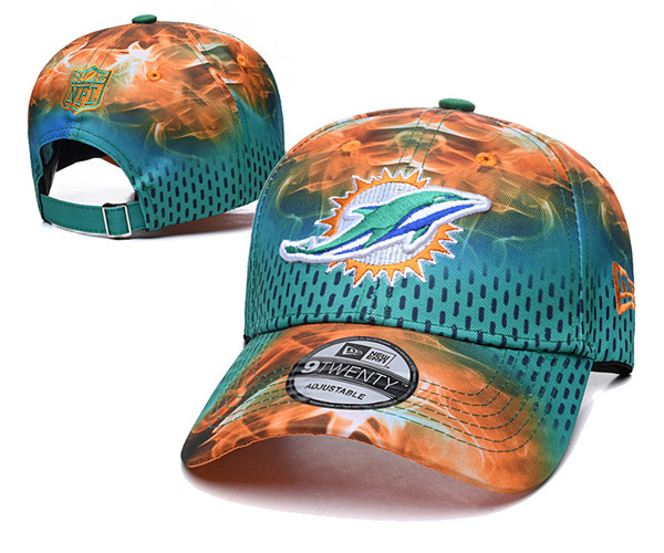 Miami Dolphins Stitched Snapback Hats 019