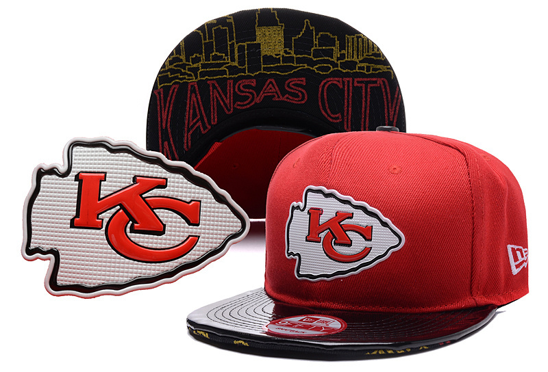 NFL Kansas City Chiefs Stitched Snapback Hats 020