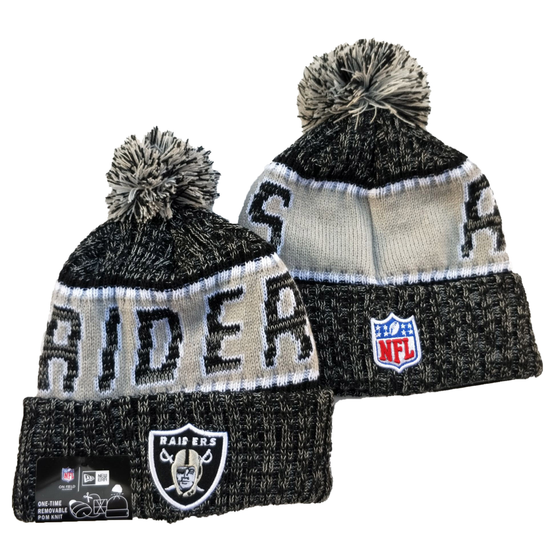NFL Las Vegas Raiders Knits Hats 021