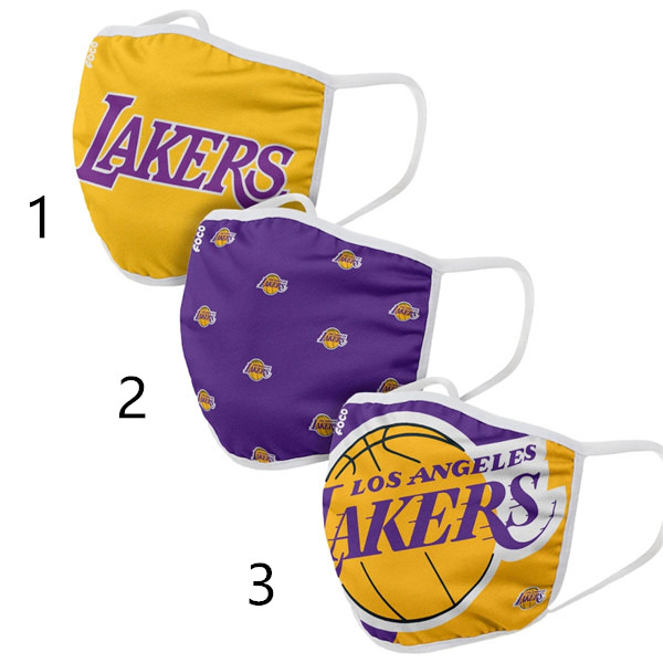 Los Angeles Lakers Face Mask 29060 Filter Pm2.5 (Pls check description for details)