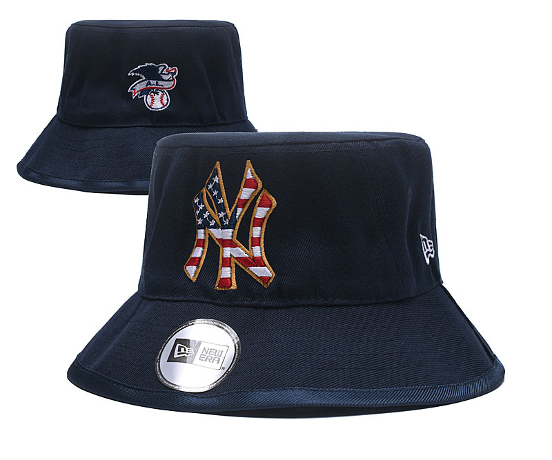 MLB New York Yankees Stitched Snapback Hats 063