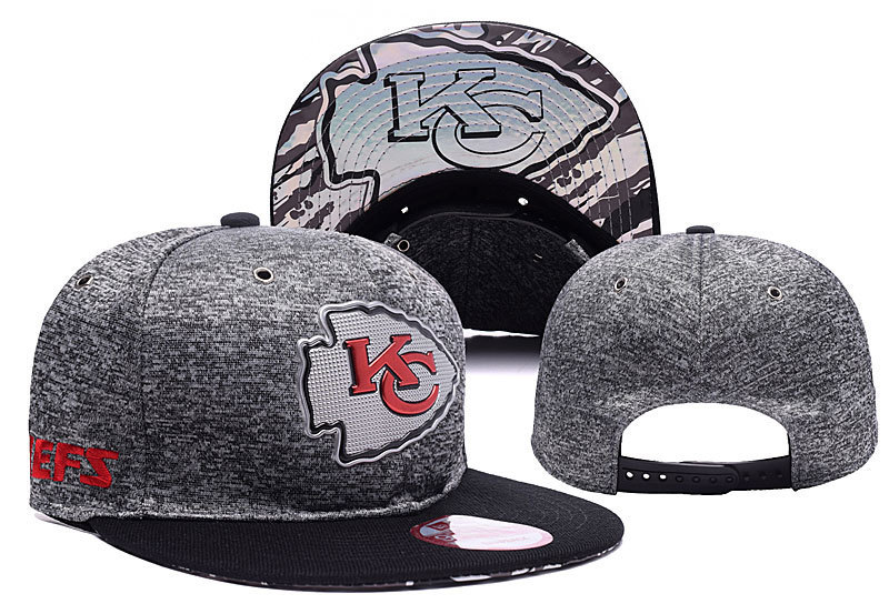 NFL Kansas City Chiefs Stitched Snapback Hats 023