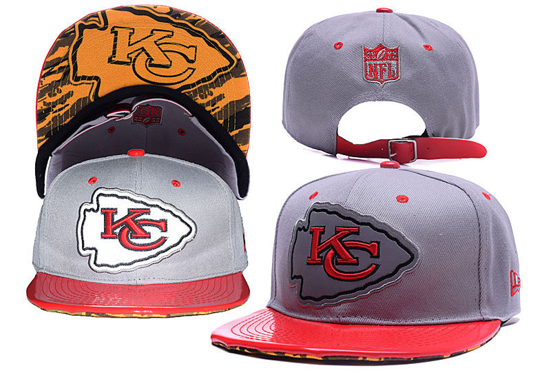 NFL Kansas City Chiefs Stitched Snapback Hats 024