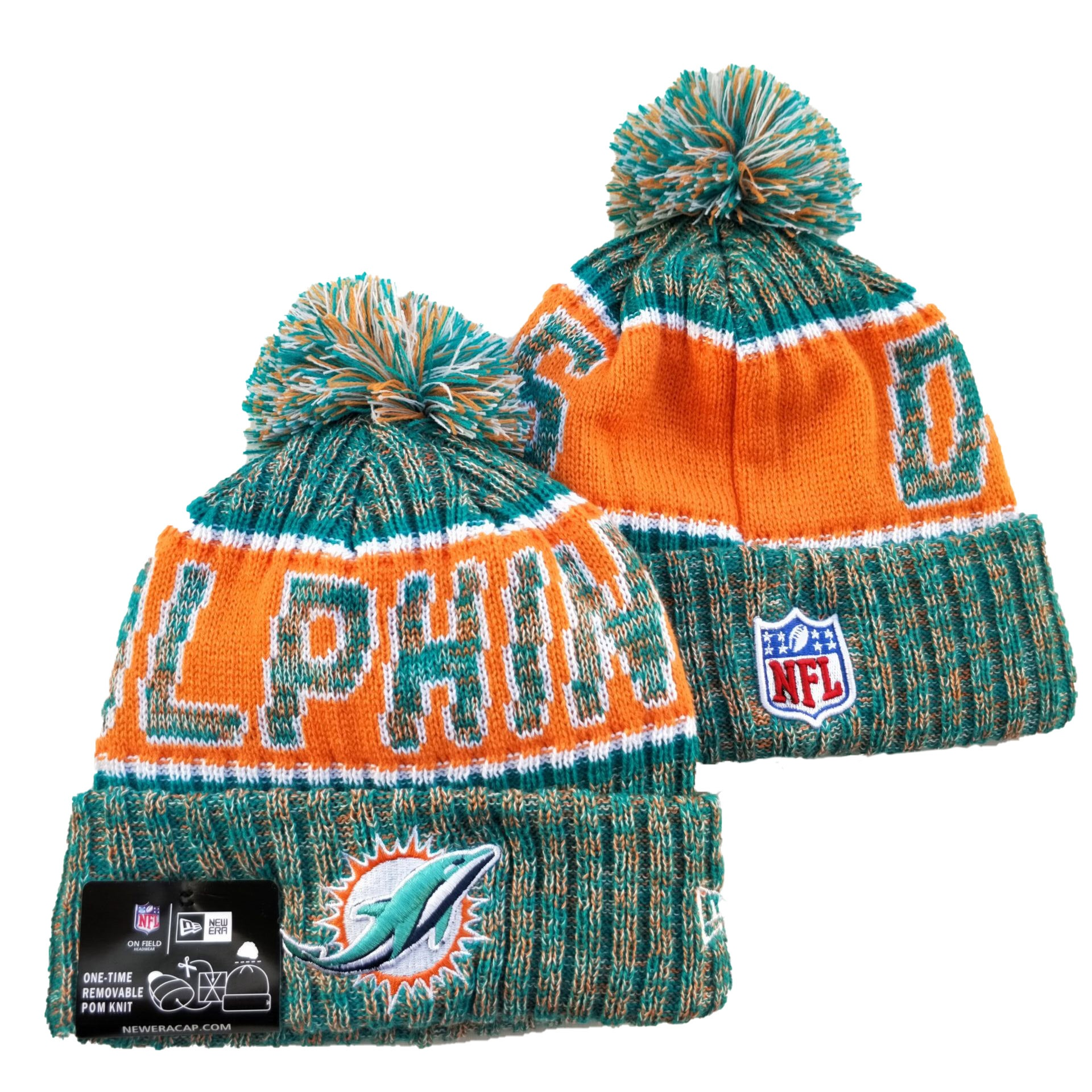 Miami Dolphins Knits Hats 023