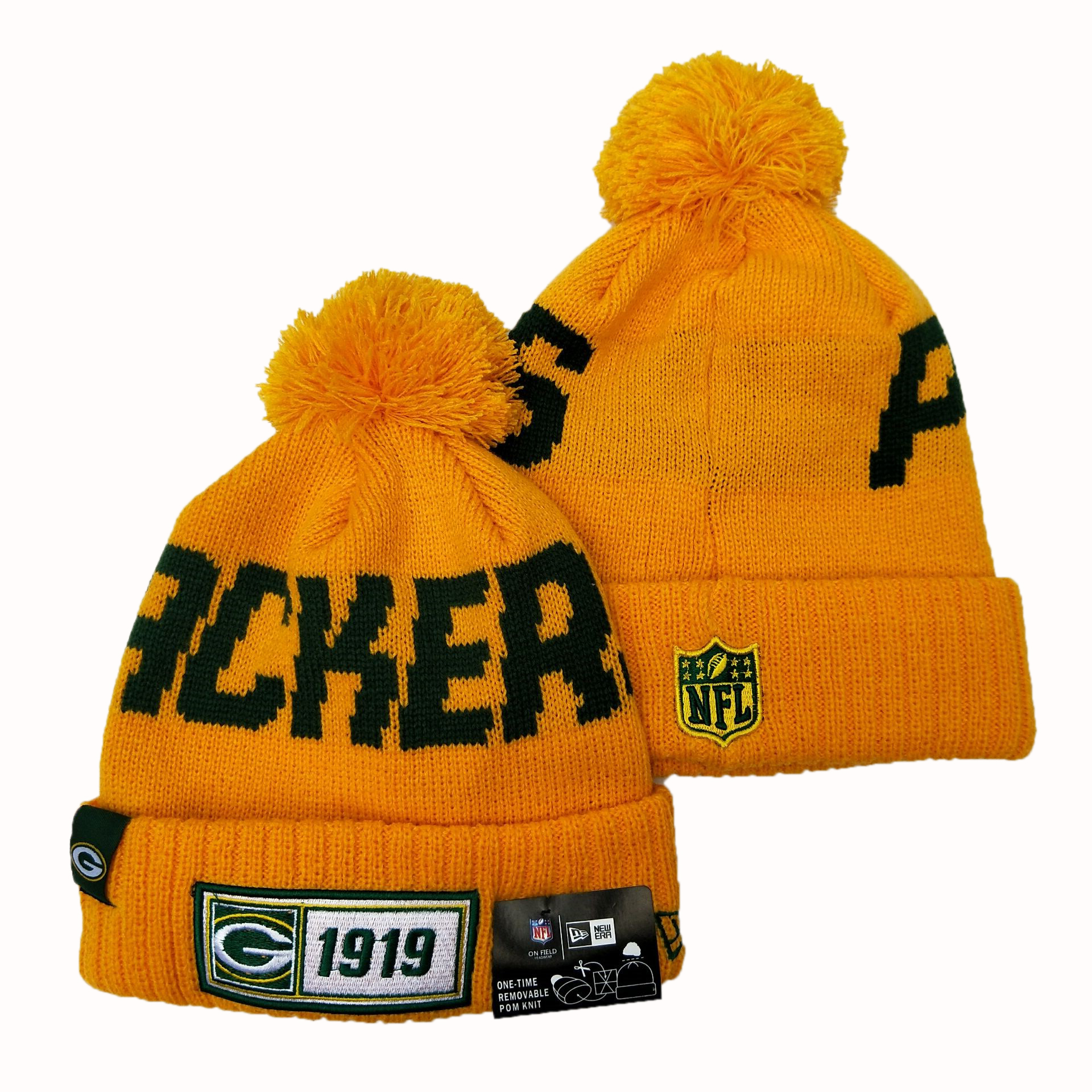 NFL Green Bay Packers New Era 2019 Knit Hats 052