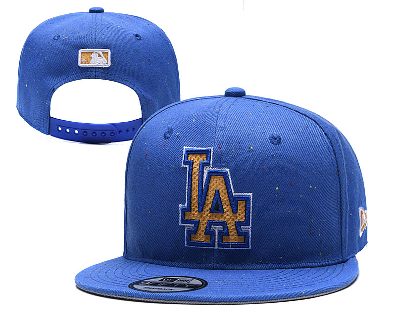 MLB Los Angeles Dodgers Stitched Snapback Hats 031