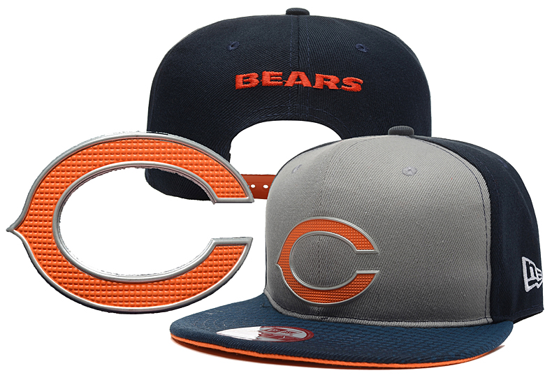 NFL Chicago Bears Stitched Snapback Hats 001