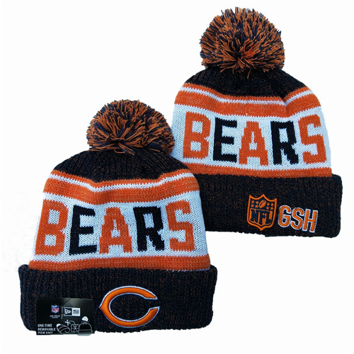 NFL Chicago Bears New Era 2019 Knit Hats 046