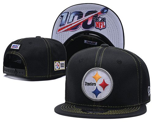 NFL Pittsburgh Steelers 2019 100th Season Stitched Snapback Hats 046