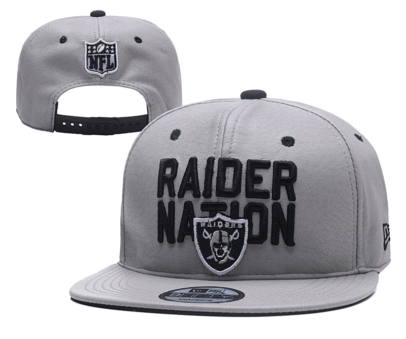 NFL Oakland Raiders Stitched Snapback Hats 009