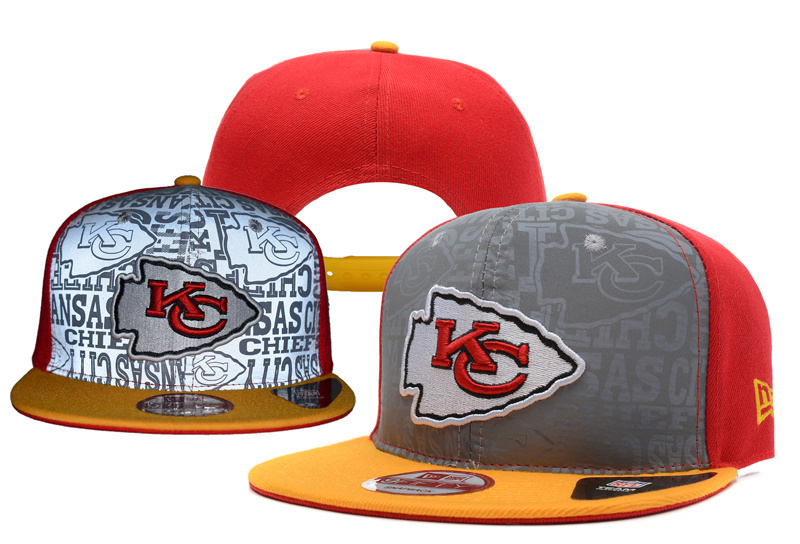 NFL Kansas City Chiefs Stitched Snapback Hats 026