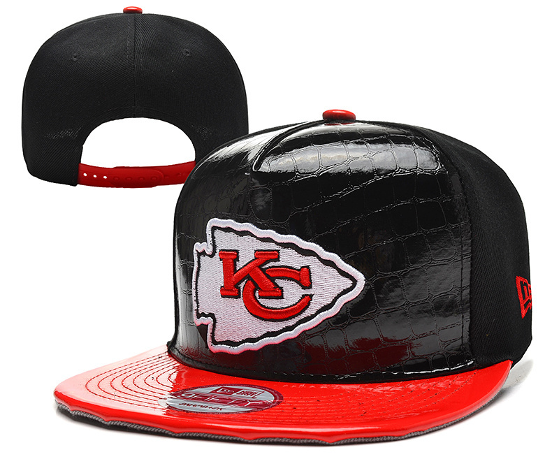 NFL Kansas City Chiefs Stitched Snapback Hats 028