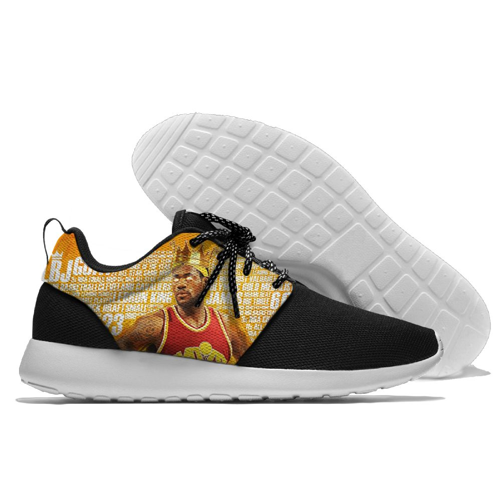 Women's NBA Cleveland Cavaliers Roshe Style Lightweight Running Shoes 002