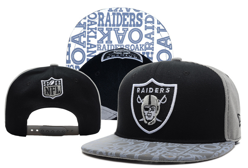 NFL Oakland Raiders Stitched Snapback Hats 030