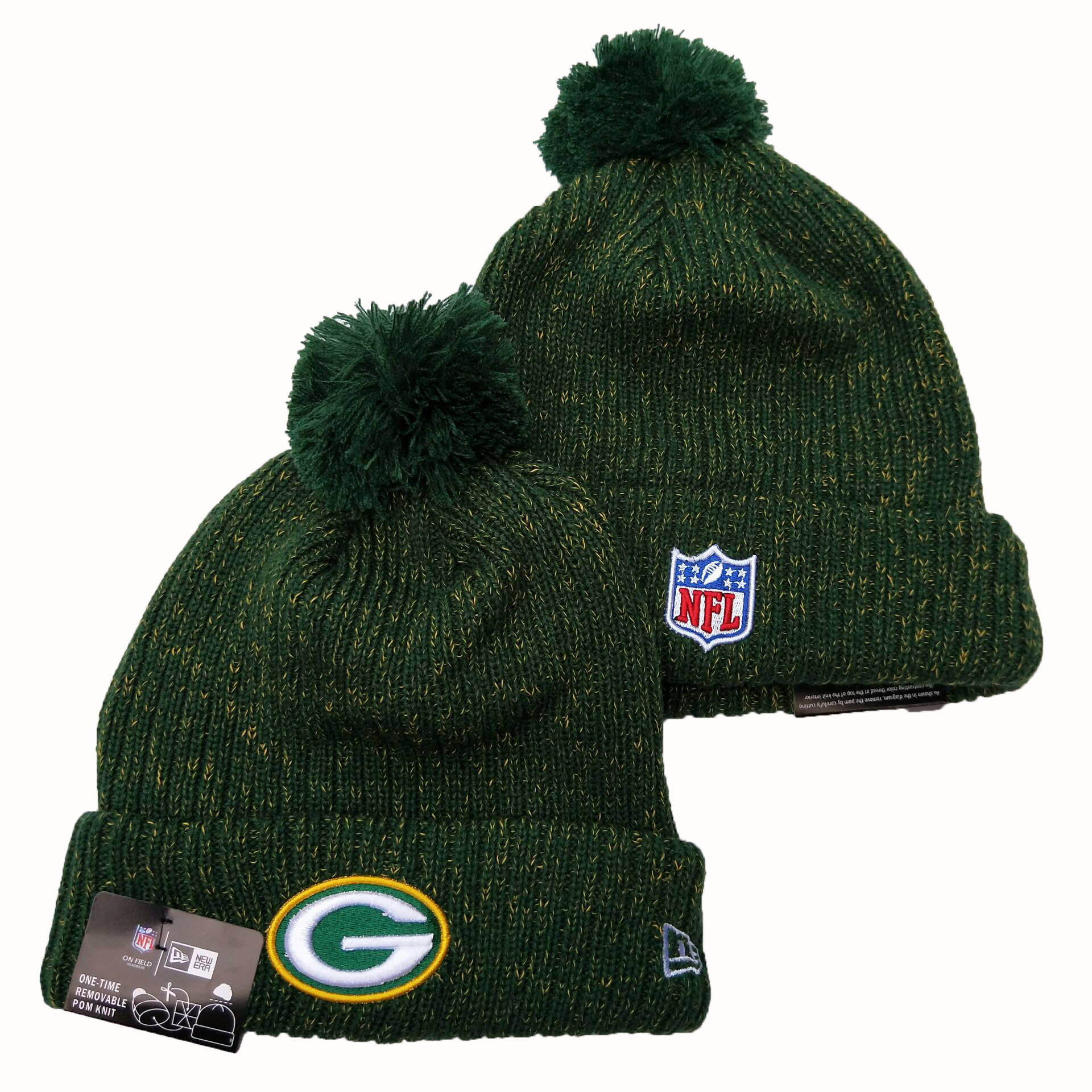 NFL Green Bay Packers New Era 2019 Knit Hats 053