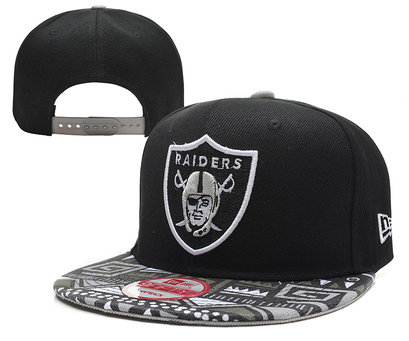 NFL Oakland Raiders Stitched Snapback Hats 032