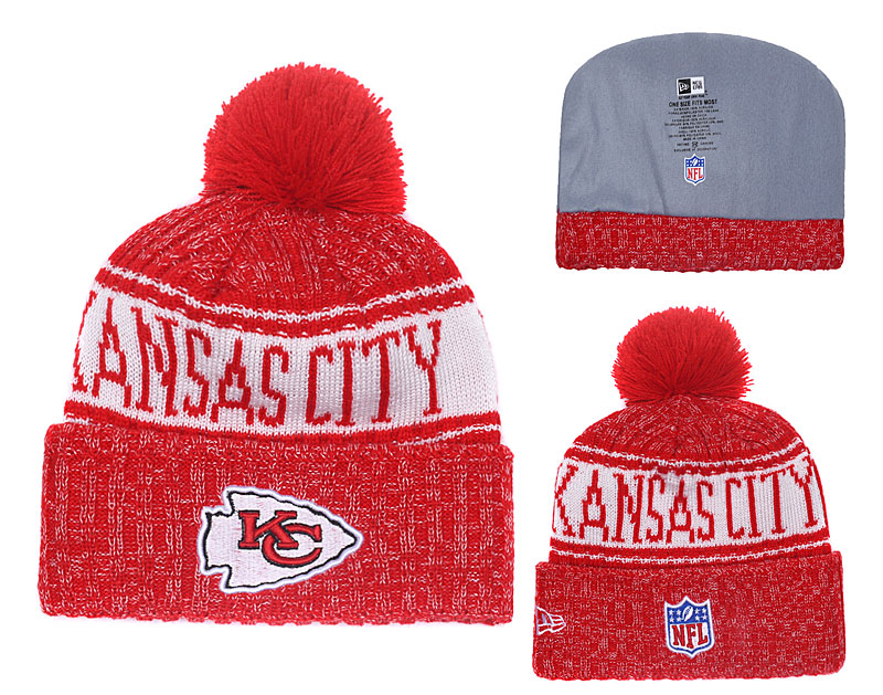NFL Kansas City Chiefs Stitched Knit Hats 003