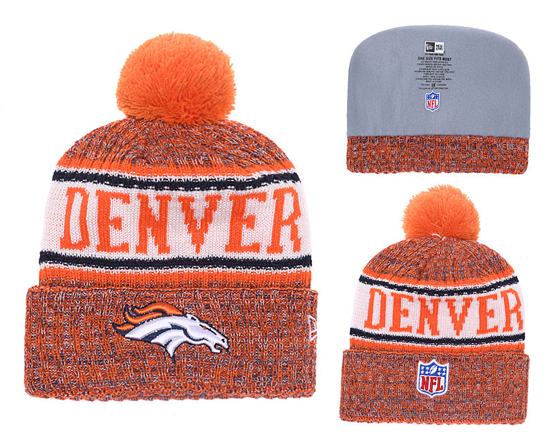 NFL Denver Broncos Stitched Knit Hats 034