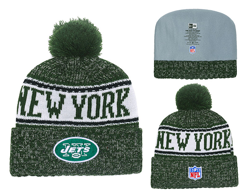 NFL New York Jets Stitched Knit Hats 012