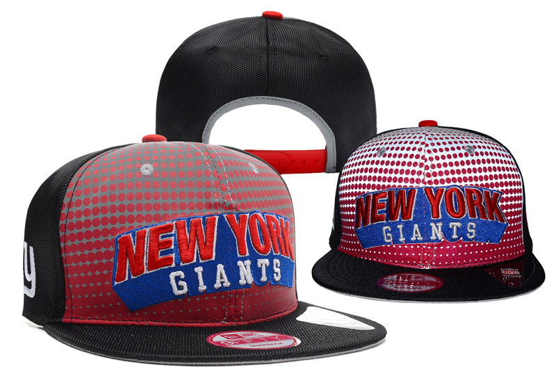 NFL New York Giants Stitched Snapback Hats 032