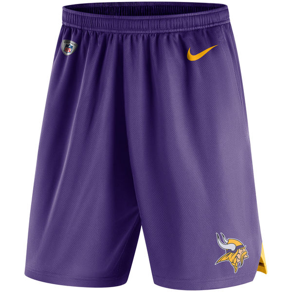 Men's Minnesota Vikings Nike Purple Knit Performance Shorts
