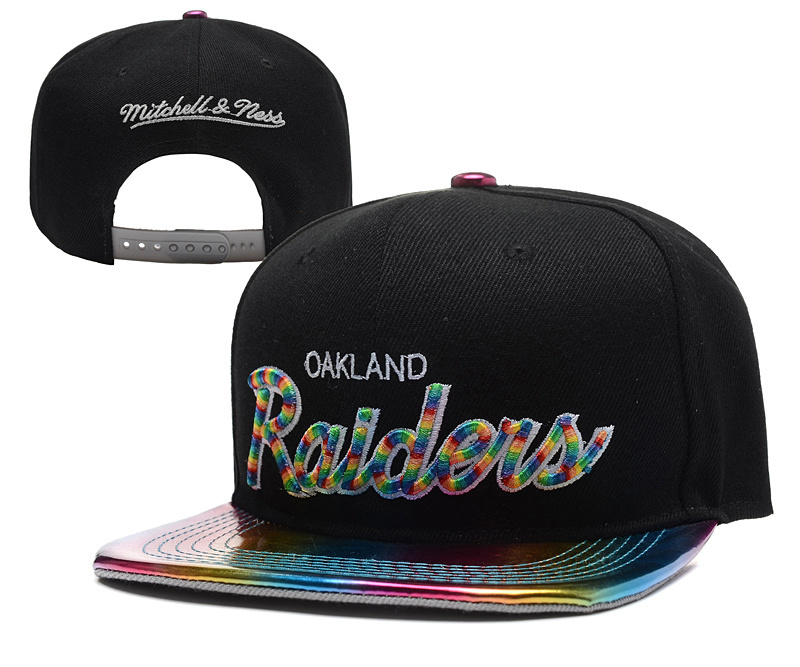 NFL Oakland Raiders Stitched Snapback Hats 035